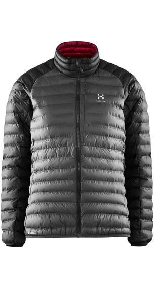 Haglöfs W's Essens Mimic Jacket MAGNETITE/TRUE BLACK